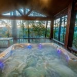 Heaven on the River Hot Tub