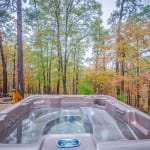 Secluded Hot Tub Photo
